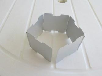 Vargo foldable windscreen