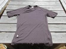 Icebreaker 200 series merino t-shirt, brown, Large