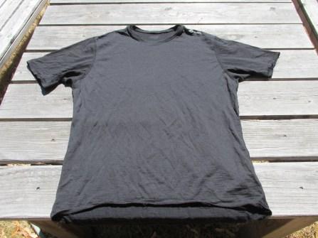 Sugoi merino wool t-shirt, black, Large