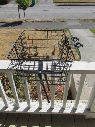 Wald 157 very large front delivery basket