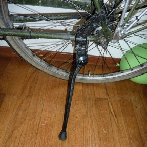 Greenfield rear triangle kickstand. (Bike not included!)