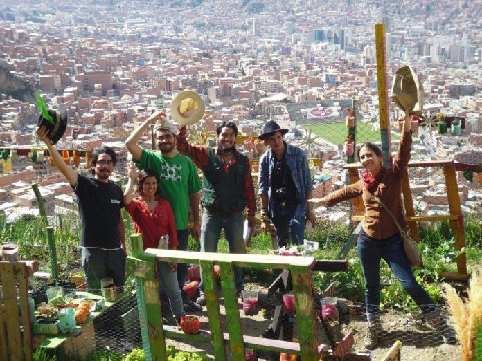 2015 INUAg WInners Fundacion Alternativas in La Paz, Bolivia