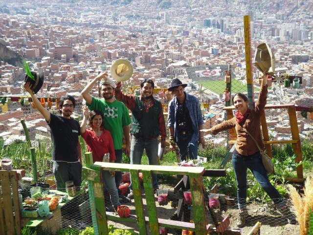 2015 INUAg WInners Fundacion Alternativas in La Paz, Bolivia