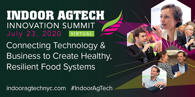 Indoor AgTech Goes Virtual: Over 300 Industry Leaders Sign Up for Online Summit