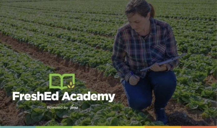 PMA launches the Essentials of Produce Safety, an online training program uniquely designed for produce industry mid-level professionals