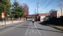 Rosedale Bike Lanes