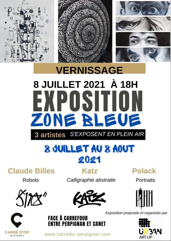 Exposition Zone Bleue