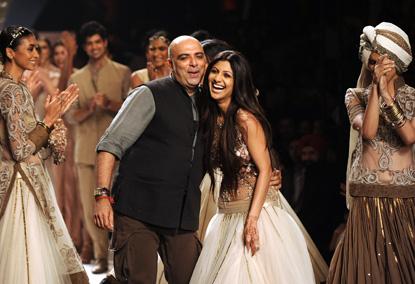 shilpa shetty fashion show