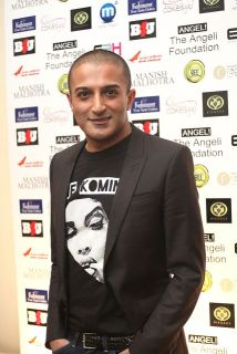 Adil Ray aka Citizen Khan at the Manish Malhotra Fashion Fundraiser in London for The Angeli Foundation