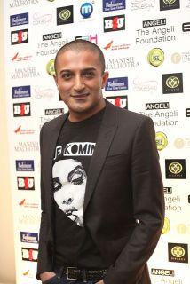 Adil Ray aka Citizen Khan at the Manish Malhotra Fashion Fundraiser in London for The Angeli Foundation