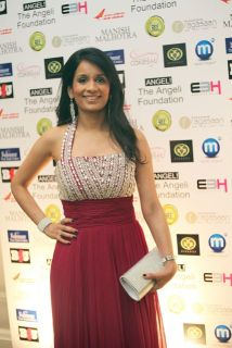BBC Sports presenter Sonali Shah at the Manish Malhotra Fashion Fundraiser in London for The Angeli Foundation