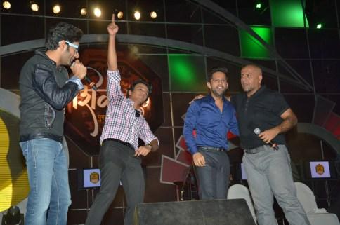 Shekhar, Abhijeet Sawant, Rahul Vaidya and Vishal