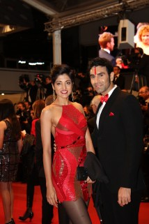 Sandip Soparrkar with his wife Jesse Randhawa at Cannes Film Festival5