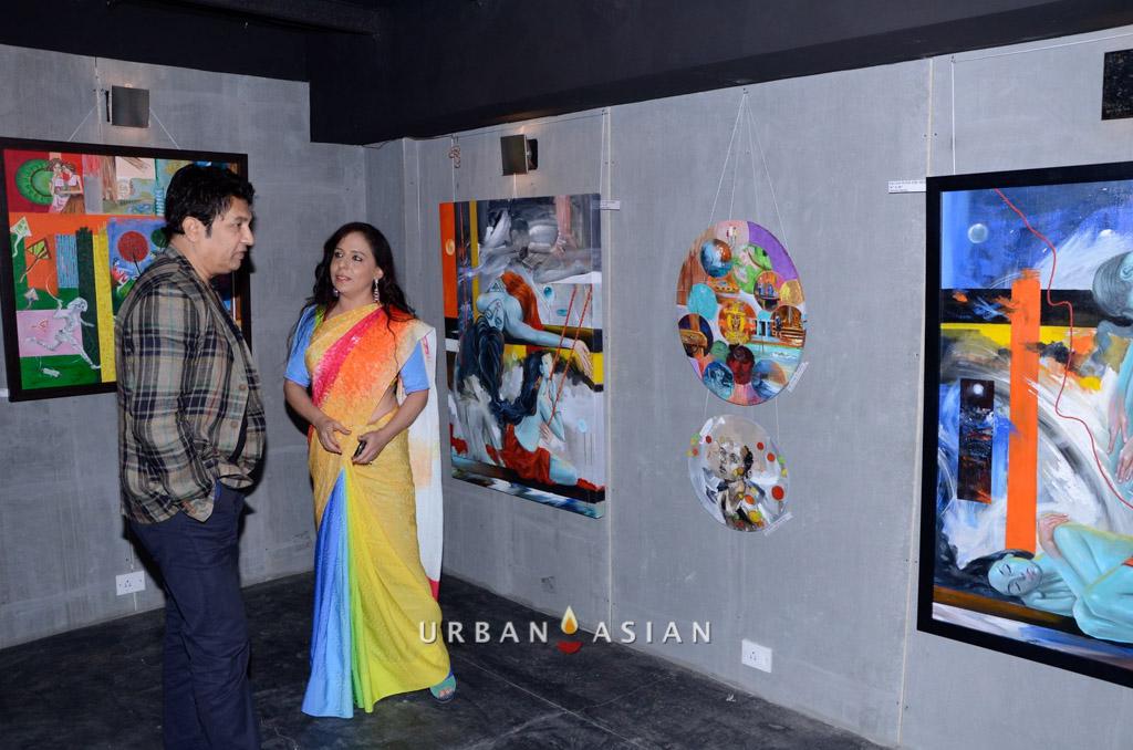 130613_190731Shekhar Suman With Sangeeta Babani