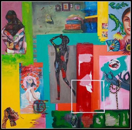 Sangeeta Babani Paintng Faith and Embrace