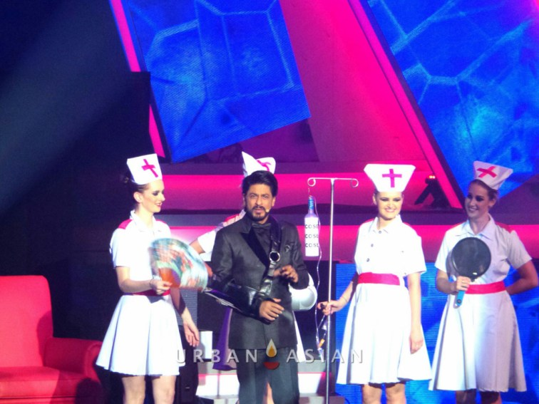 130717_193332Shahrukh Khan At 14th IIFA awards Macau
