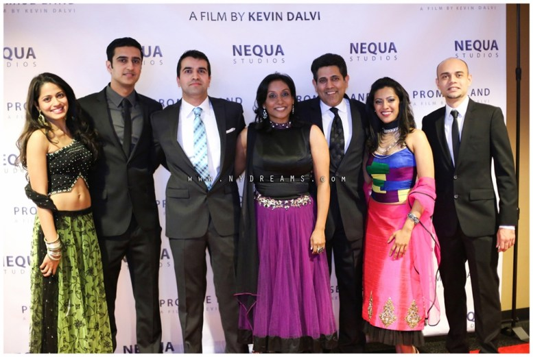 Promise Land 0 - L:R Mouzam Makkar, Sunny Verma, Kevin Dalvi, Elizabeth Abraham, Kamal Joseph Hans, Leena Kurishingal, & Faris Khan