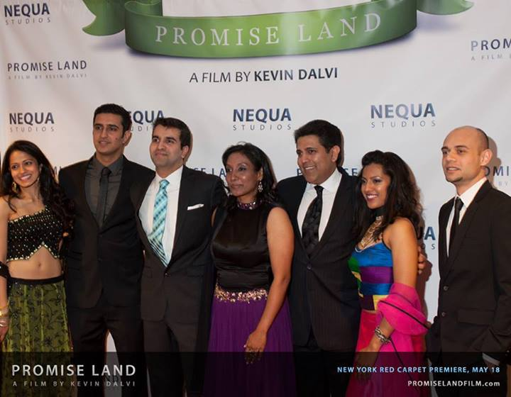 Promise Land 2 - L:R Mouzam Makkar, Sunny Verma, Kevin Dalvi, Elizabeth Abraham, Kamal Joseph Hans, Leena Kurishingal, & Faris Khan