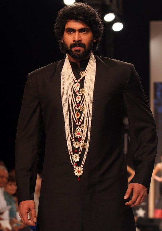Royal Rana Daggubati in Designer Moni Agarwal's Satlada creation_1