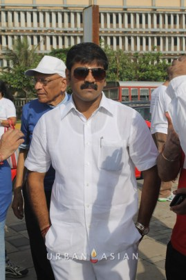 130921_161930Minister of state for housing Sachin Ahir At Peace Walk