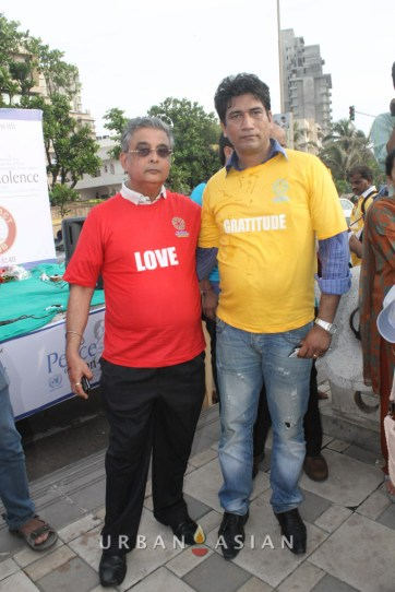 130921_171502Rubeen Malkani With Satish Reddy At Peace Walk