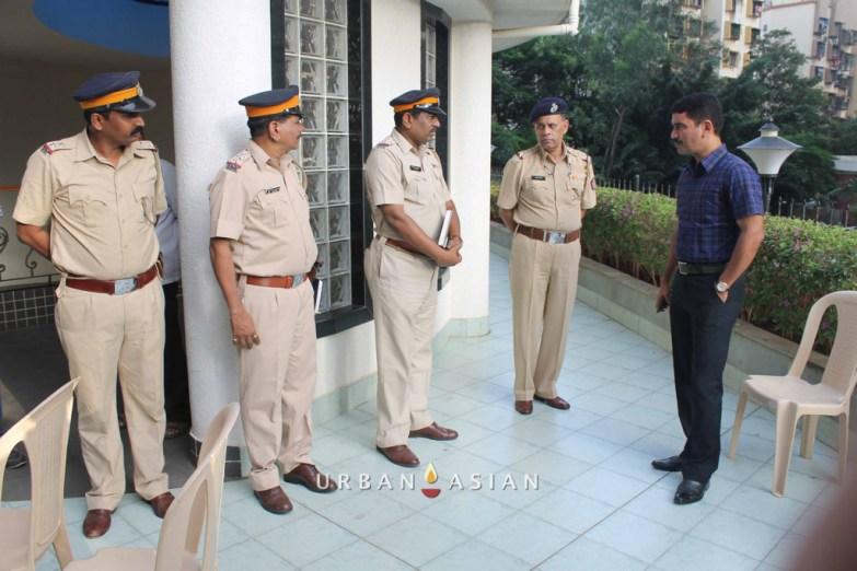 Additional Commissoner Vishwas Nangare Patil At Are We Safe Campaign
