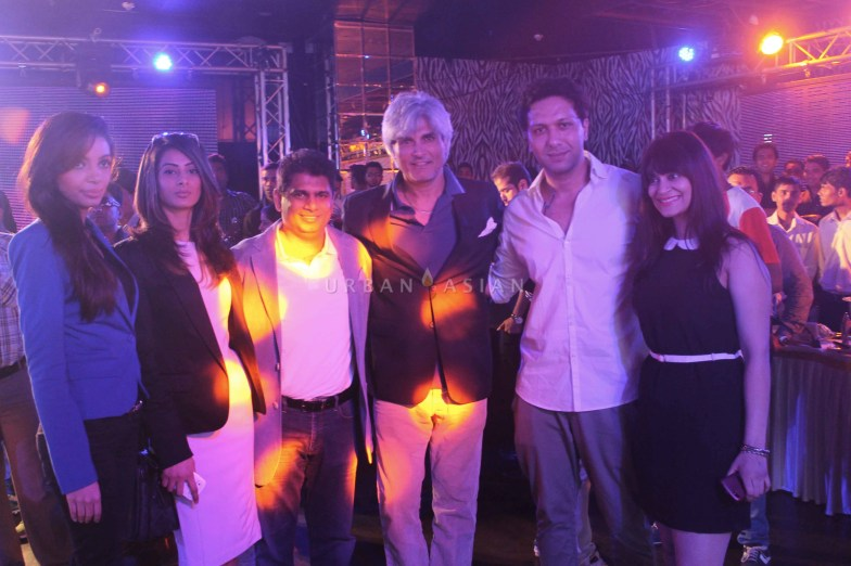 Candy brar sophy khan mohammad fasih with harindra sing at party