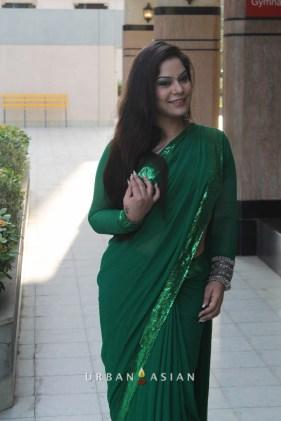 Diya Sharma At Are We Safe Campaign-2