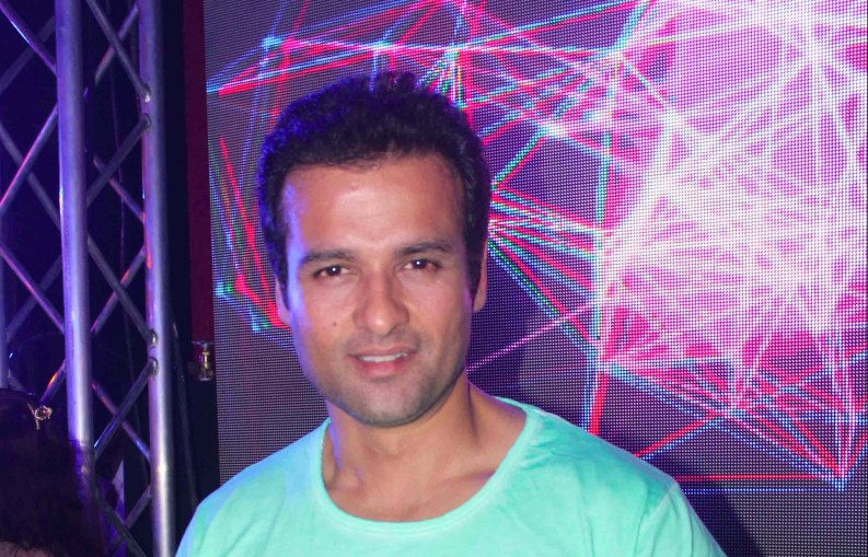 Rohit Roy At Party