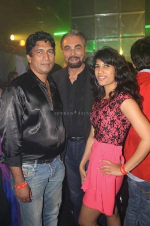 Satish Reddy Kabir Bedi and Reshma D'souza at party