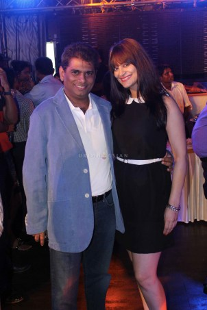 Showman Entertainment Mohammed Fasih With Candy Brar At Party