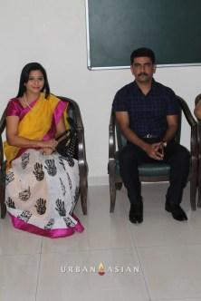 Socialist Gurpreet Kaur With Additional Commissioner Vishwas Nangare Patil At Are We Safe Campaign