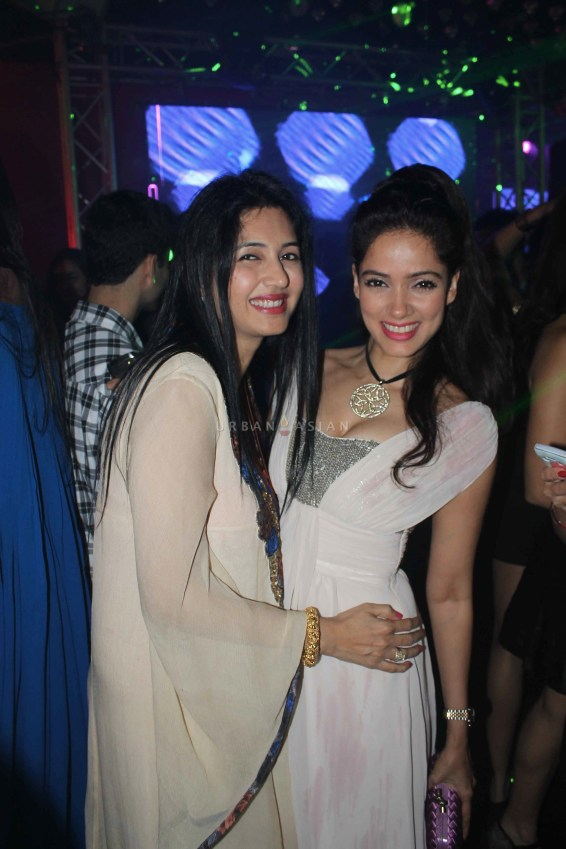 Vidya Malvade With Friend At Party