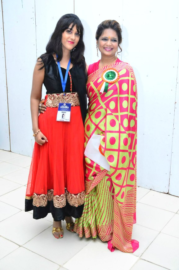 Sagarika Deb with Arpita Bansal, MD Creative Nest