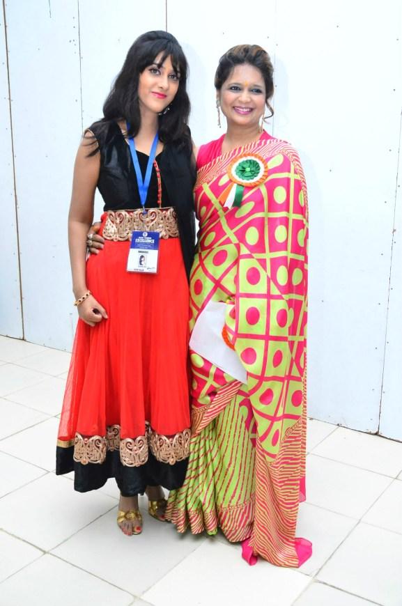 Sagarika Deb with Arpita Bansal, MD Creative Nest