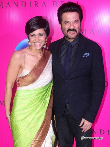 Anil Kapoor At Saree Launch