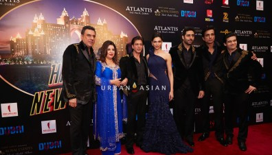 The Grand World Premiere of Happy New Year in Dubai