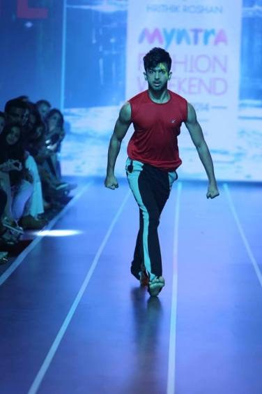 Sandip Soparrkar troups performing at Myntra fashion show7
