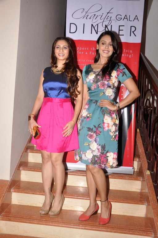 Tanishaa At Charity Dinner