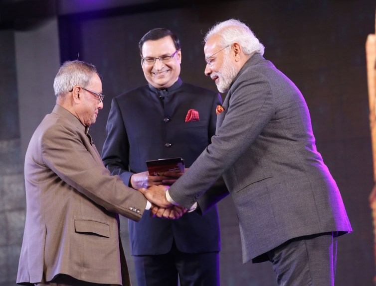 21 YEARS OF INDIA TV'S AAP KI ADALAT CELBRATION AT PRAGATI MAIDAN 001