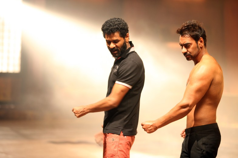 Ajay Devgn and Prabhudheva