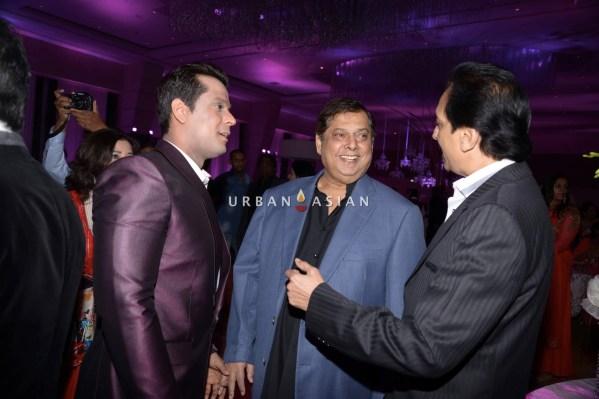 David Dhavan at Uday Singh and Shirin recepetion Party1