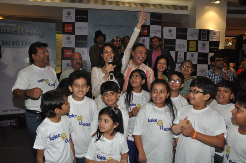 Dipannita Sharma with the cast