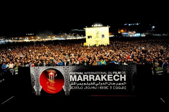 Jemaa El Fna Square at the 14th Marrakech International Film Festival
