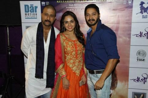 Jitendra, Amruta & Shreyas