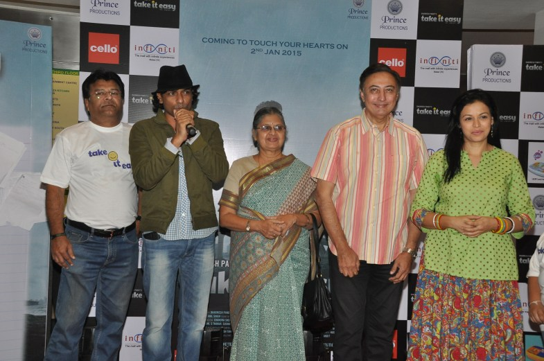 (L-R) Producer Dharmesh Pandit, Director Sunil Prem Vyas, Sulbha Arya, Anang Desai and Jyoti Gauba