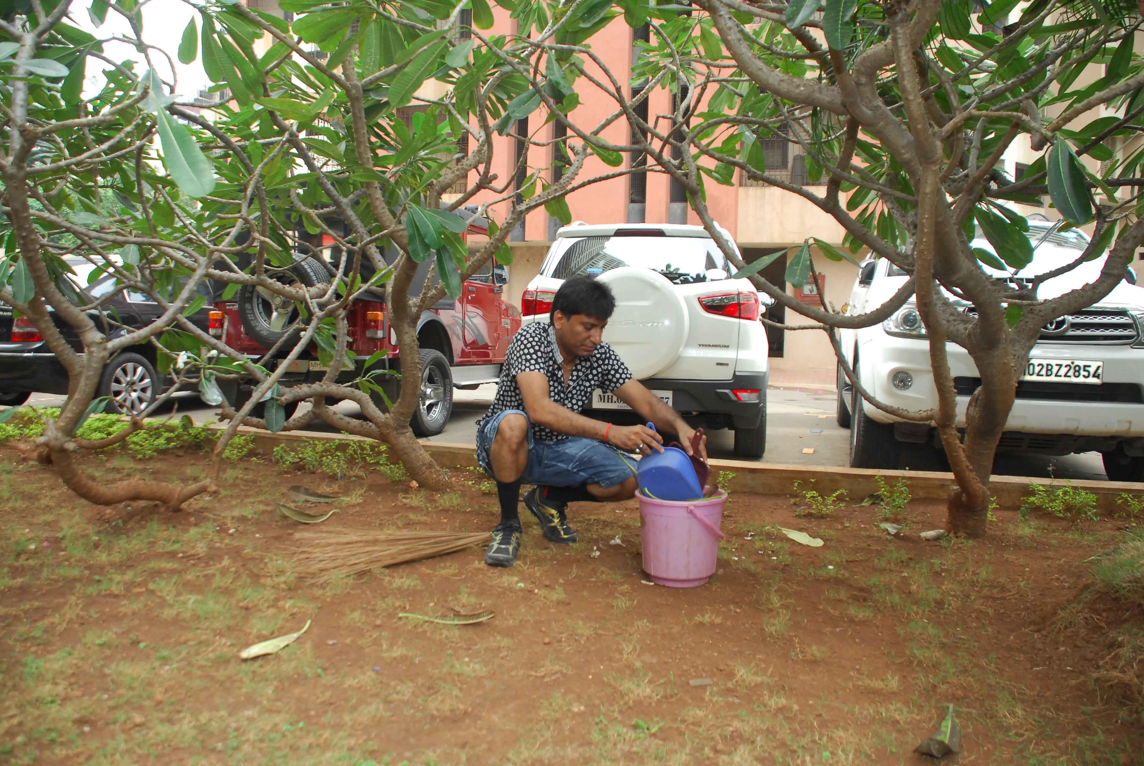Raju Srivastav Clean Mumbai10