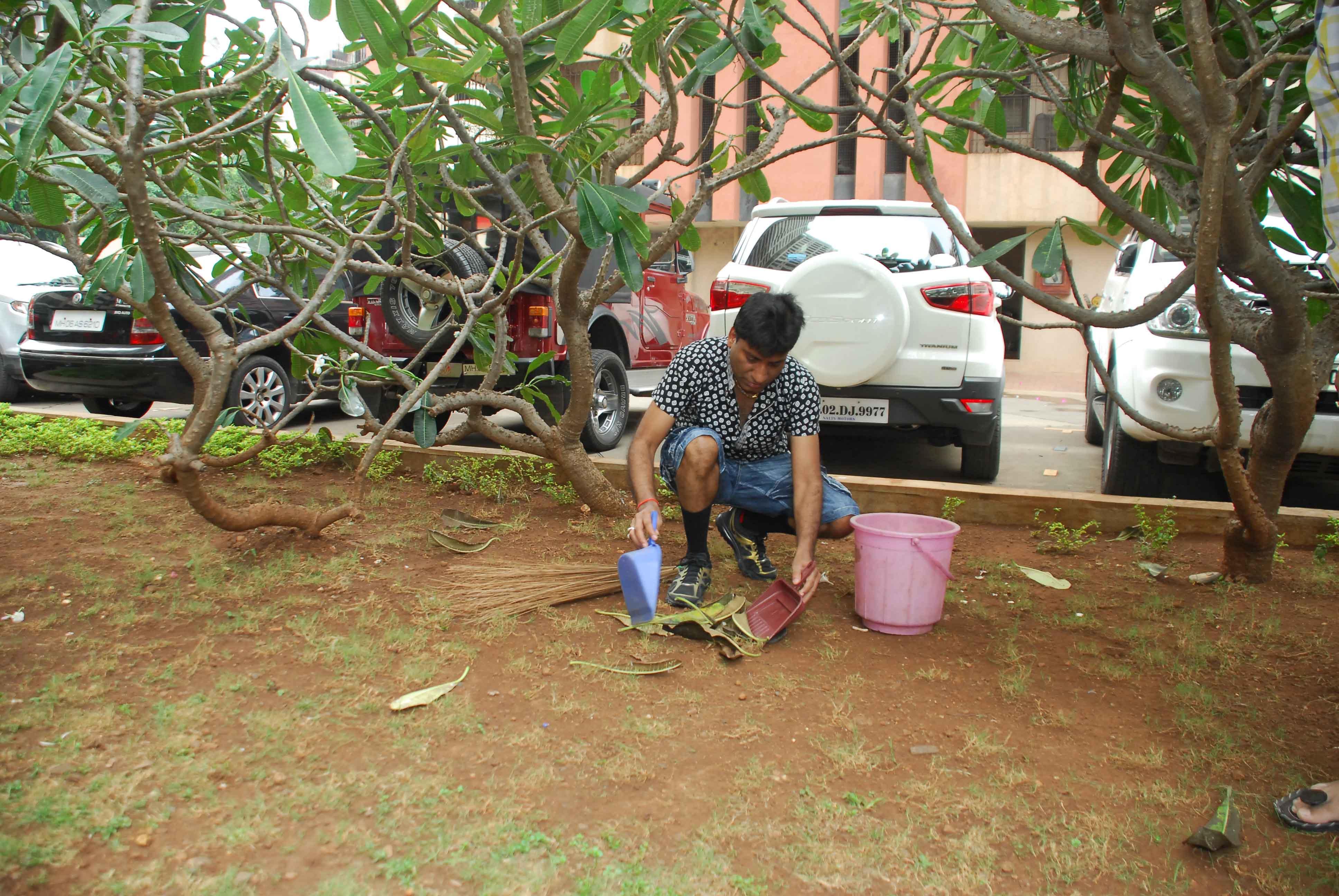 Raju Srivastav Clean Mumbai11