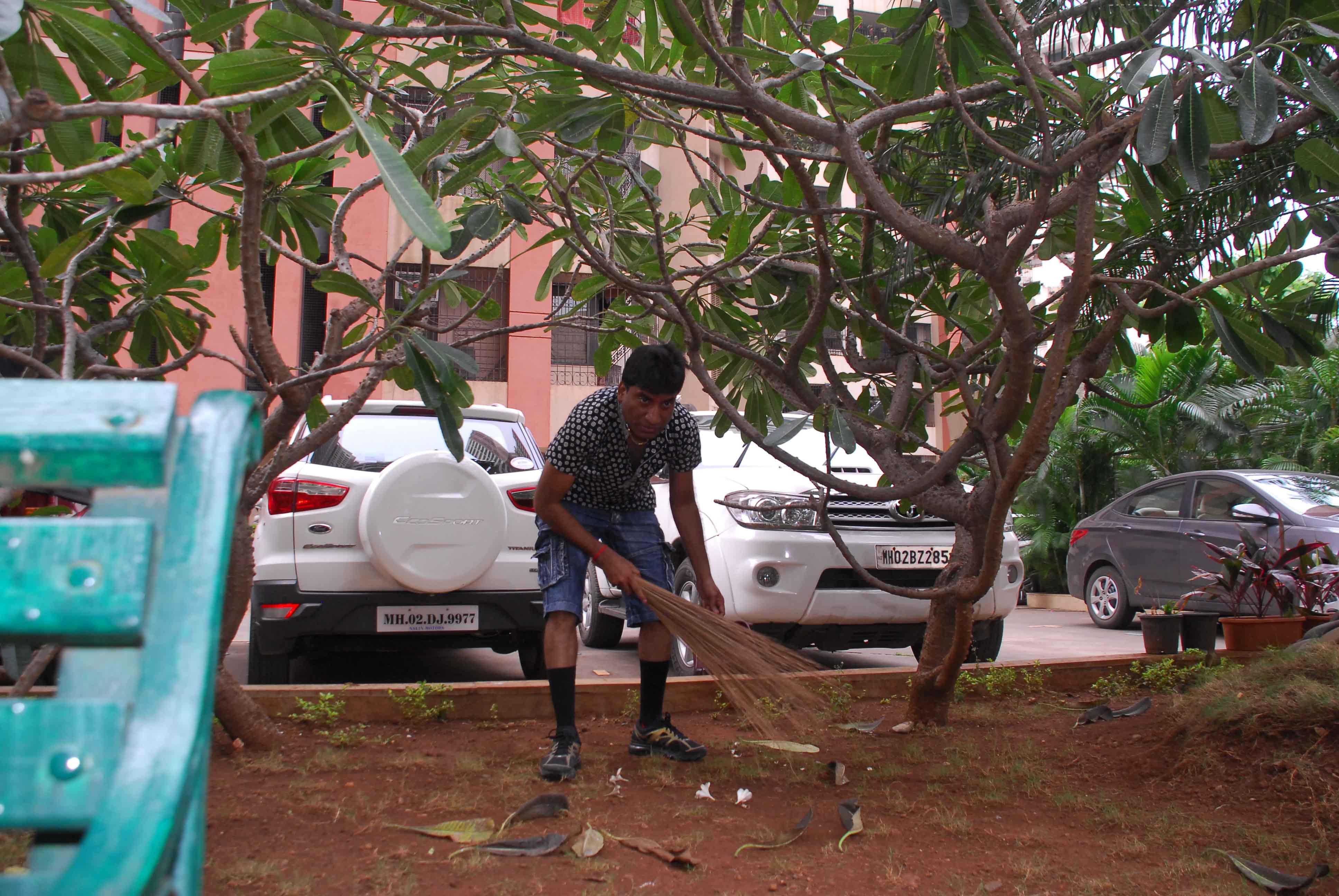 Raju Srivastav Clean Mumbai13