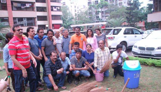 Raju Srivastav Clean Mumbai8